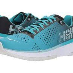 Hoka Cavu Aqua Blue Running Athletic Shoes 9.5